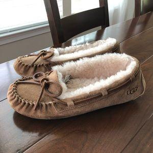 Ugg Moccasin Slippers Chestnut Dakota 7